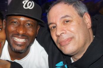 with Dwayne AkaBlue Telesford.