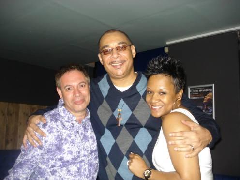 With Nat Landry and Tracy Hamlin