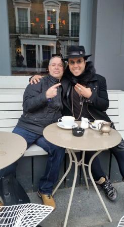 with Moyses Dos Santos