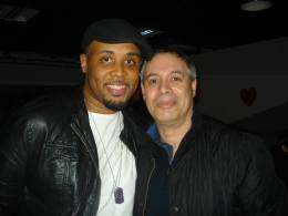 with Tony Momrelle