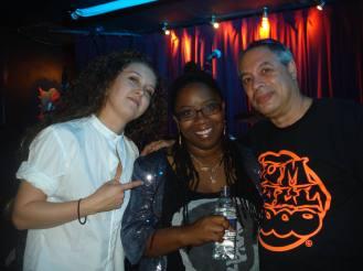 With Marika Hodgson and Vanessa Freeman
