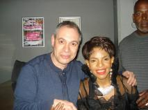 with Melba Moore