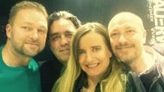 Rob Hardt (Cool Million), Markus Kater, Birke Beisert (Groovefinder), Frank Ryle (Cool Million)