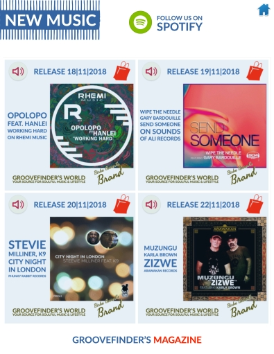 To buy these tunes: https://www.yumpu.com/en/document/view/62250777/groovefinders-magazine-4/37