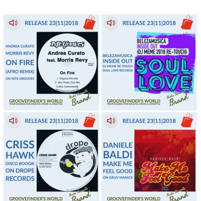 To buy these tunes: https://www.yumpu.com/en/document/view/62250777/groovefinders-magazine-4/39