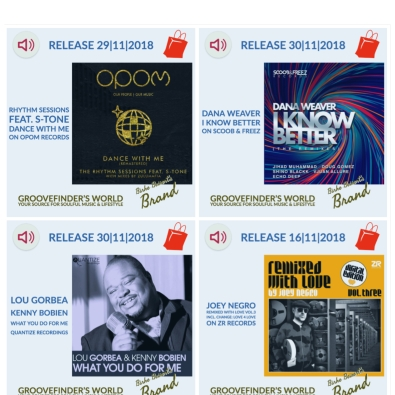 To buy these tunes: https://www.yumpu.com/en/document/view/62250777/groovefinders-magazine-4/48