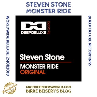 25|01: https://www.traxsource.com/title/1081094/monster-ride